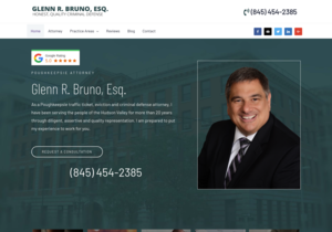 Glenn R. Bruno, Esq. website thumbnail