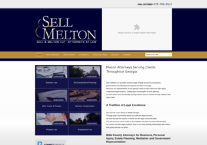 Sell & Melton, L.L.P. website thumbnail